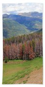 Landscape In Vail Beach Towel
