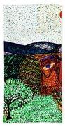 Landscape Beach Towel by Sarah Loft