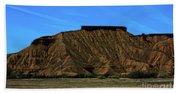 Landscape Scenery Valley Of Fire  Beach Towel