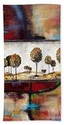 Landscape Vignettes-3 Beach Towel