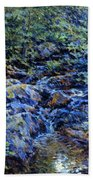 Landscape With Waterfall 1890 Beach Towel
