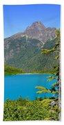 Landslide Lake Beach Towel