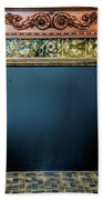 Lane-hooven House Antique Fireplace Beach Towel