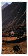 Langtang Village Beach Towel