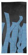 Languettes 02 - Blue Beach Towel