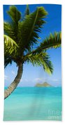 Lanikai Palm Beach Towel