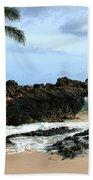 Lapiz Lazuli Stone Aloha Paako Aviaka Beach Towel