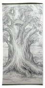 Large Shady Tree Beach Sheet
