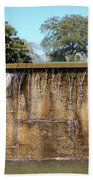 Large Water Fountain Beach Towel