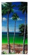 Las Cuevas Bay Beach Towel