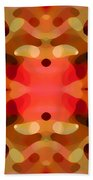 Las Tunas Abstract Pattern Beach Towel