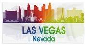 Las Vegas Nv  Beach Towel