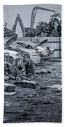 Last Journey - Salvage Yard Beach Towel