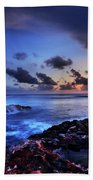 Last Light Beach Towel by Chad Dutson