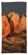 Last Light Valley Of Fire Beach Towel
