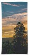 Last Rays Of Sunday Beach Towel by Jason Coward