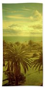 Late Afternoon Beach Towel