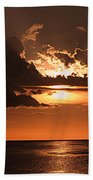 Late In The Day 1 Beach Towel