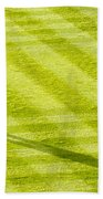 Late In The Day Shadow Beach Towel