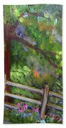 Late Summer At Pennypack Preserve Beach Towel