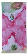 Late Summer Rose V Rosariet Beach Towel