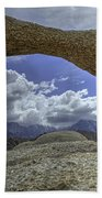 Lathe Arch Between Storms Beach Towel