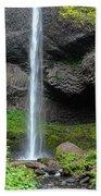 Latourell Falls, Oregon Beach Towel
