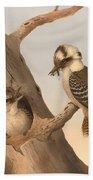 Laughing Kookaburra Beach Towel