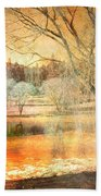 Laughter Amongst Trees Beach Towel