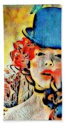 Lautrec Homage Beach Towel