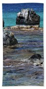 Lava Field Beach Towel