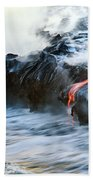 Lava Flow Beach Towel