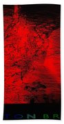 Lava Fountain Beach Towel