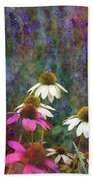 Lavender And Cones 1636 Idp_2 Beach Towel