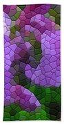 Lavender Azaleas Beach Towel