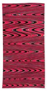 Lavender Metal Panel Abstract Beach Towel