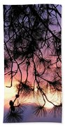 Lavender Sunset Beach Towel
