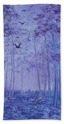 Lavender Woods Beach Towel