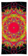 Layers Of Color  Beach Towel
