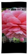 Layers Of Pink Camellia Dream Beach Towel