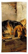 Lazy Moments Beach Towel by John Sargent Noble