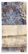 Le Bain Paris Blue Beach Towel