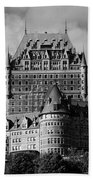 Le Chateau Frontenac - Quebec City Beach Towel