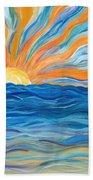 Le Soleil Beach Towel