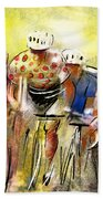 Le Tour De France 07 Beach Towel