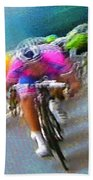 Le Tour De France 09 Beach Towel