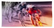 Le Tour De France 13 Beach Towel