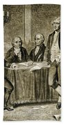 Leaders Of The First Continental Congress Beach Towel
