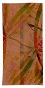 Leaf Dance Beach Towel