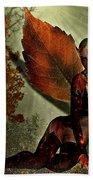 Leaf Elf Beach Towel